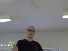 Sådan monterer du en røgalarm - på 1 minut