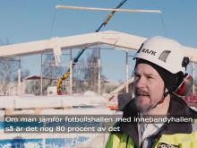 7 månader efter byggstart - se hur Thoren Arena växer fram