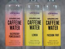 Löfbergs Caffeine Water - piggar upp som kaffe och släcker törsten som vatten