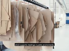 Staffan Holm, designer of Offecct's stand for Stockholm Furniture & Light Fair 2020