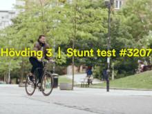 Hövding 3 - Stunt test #3207