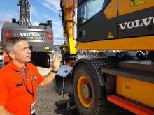 Fördelarna med Volvo EWR150E Rail -  Peter Bäck
