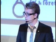 Fredrick Federley på Trendgalan 2007