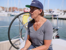 World Renown Global Solo Sailor Dee Caffari Explains Her Passion For Clean, Plastic Free Seas