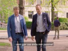 Höegh Eiendom har laget en kort film om den helsemessige gevinsten ved gående møter.