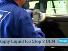 Norton Ice läpikuultavan lakan hiontaan ja kiillotukseen
