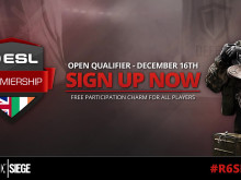 Rainbow Six ESL Premiership Open Qualifiers