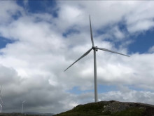 Strøm på nett fra Roan vindpark