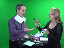 Video Savvy - How much make-up should you do before a shoot? (#4 of 6)