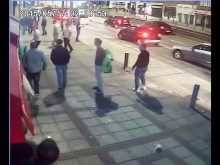 CCTV footage of man being assaulted in Harrow