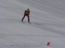 Hanna Matslofva, Orsa AK, tränar inför VM i speedski 2019