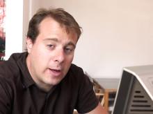 SVT:s Veckans Brott gör research på Stadsarkivet
