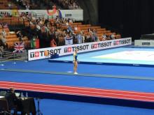 Lina Sjöbergs andra kvalhopp under World Games