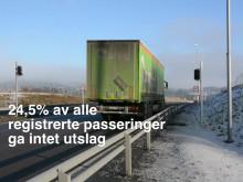 Bompasseringer utenlandske lastebiler