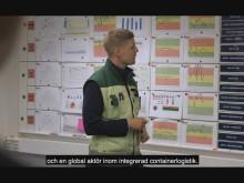 Kortfilm- APM Terminals i Göteborg – en global aktör inom integrerad containerlogistik.