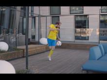 Scandic hyllar herrfotbollslandslaget med högt spel på Scandic Continental
