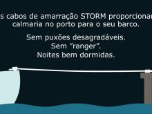 (PT) Cabo de amarração STORM da PolyRopes