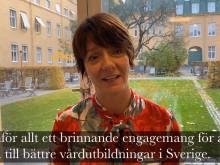 Matilda Ernkrans ger Sophiahemmet vitsord