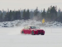 Kia Stinger Winter Test Sweden