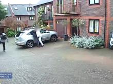 CCTV footage of assault