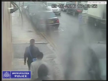 Brent: CCTV footage of suspects entering an leaving alleyway
