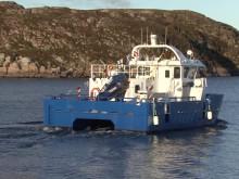 SalMars arbeidsbåt ELfrida