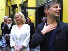 Agnetha Fältskog mottar SKAP:s pris till Kai Gullmars minne