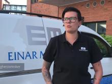 Eleni berättar hur det är att jobba i familjeföretaget Einar Mattsson