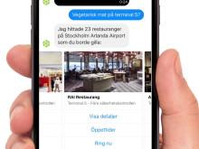 Swea − din digitala flygplatsassistent
