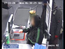 Video one - robber at till