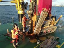 Geotekniska undersökningar för Göteborgs hamn