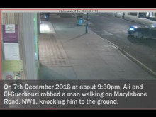 CCTV footage of Ali and El-Guerbouzi