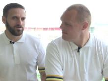 Vägen till Rio: Fatmir Seremeti & Jimmy Björkstrand (Goalball)