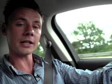 Journalist Henrik Dreboldt kører til Le Mans i en Ford Mondeo Vignale