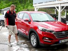 Vask bilen ofte - Bruk mindre tid på bilvask!