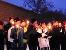 Marschallerna tändes på Luleå tekniska universitet