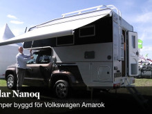 Polar Camper Nanoq ett samarbete med Volkswagen Amarok