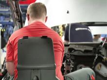 """Fords """"Happy Seat"""" förbättrar arbetsmiljön i företagets europeiska fabriker"""