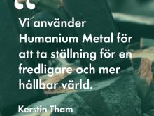 """Fredsmetall"" i Malmö universitets nya doktorsringar"