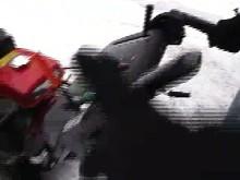 Honda snöslungor in action (MAC)