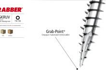 Grabber® Träskruv — enastående från huvud till spets