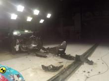 Toyota RAV4 Euro NCAP testing montage May 2019
