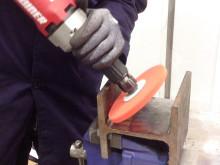 Blaze Rapid Strip - Spindelmonterad grovrengöringsrondell för svåråtkomliga utrymmen