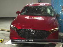Mazda 3 Euro NCAP testing montage May 2019