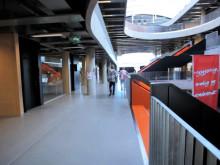 weber designgulv i Thor Heyerdahl skolen i Norge