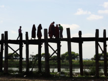 På eventyr i Myanmar