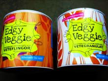Vegetariska burgare med Edgy Veggie