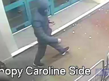 CCTV footage of Tower Hamlets assault