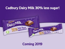 Cadbury Dairy Milk Lower Sugar