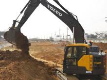 Volvo ECR145E och ECR235E grävmaskiner - lanseringsfilm